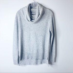 Athleta women's cowl neck sweater 100% cashmere